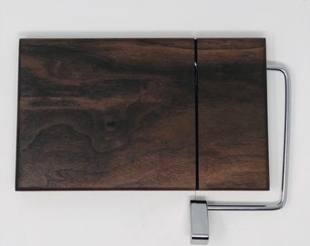 Rustic One Of A Kind Handcrafted Face-Grain Walnut Cheeseboard 1906238