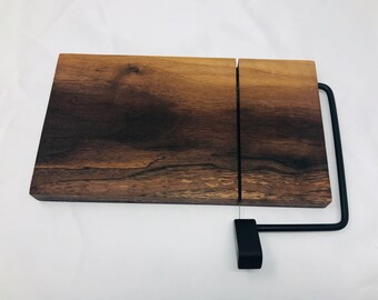 Rustic One Of A Kind Handcrafted Face-Grain Walnut Cheeseboard 1908034