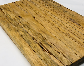 Beautiful Handcrafted face grain Spalted Pecan cutting board 1910150
