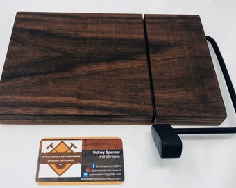 Exquisite One Of A Kind Handcrafted Face-Grain Walnut Cheeseboard 191028