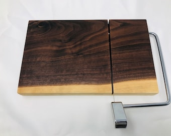 Adorable One Of A Kind Handcrafted Face-Grain Walnut Cheeseboard 1908030