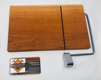 Glorious Beautiful One Of A Kind Handcrafted Face-Grain Cherry Cheeseboard 191017