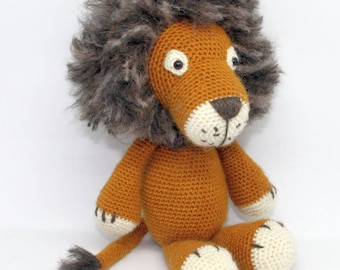 Crochet Lion Leo