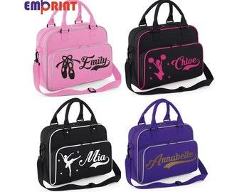 Personalised Initials Irish Dancing Girls Dance Bag Kids kit sports bag