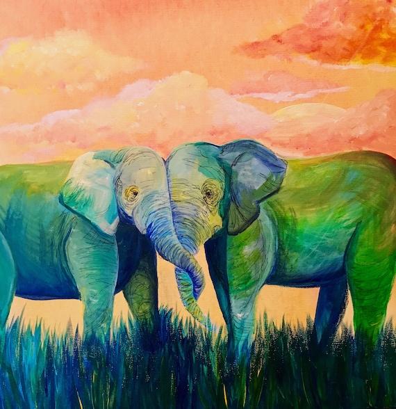 Elephant Print 1