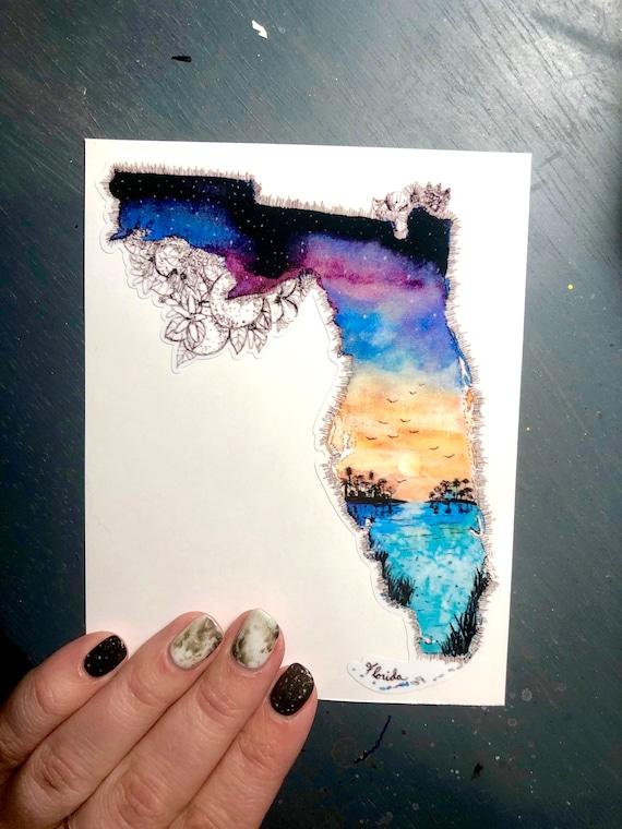 Florida Vinyl Sticker