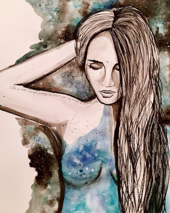 Aquarius Empowerment Print