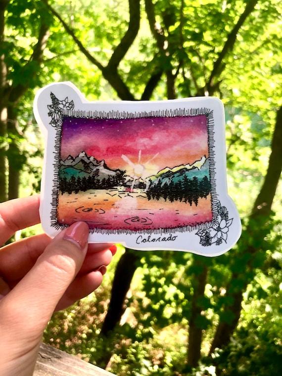 Colorado Vinyl Sticker