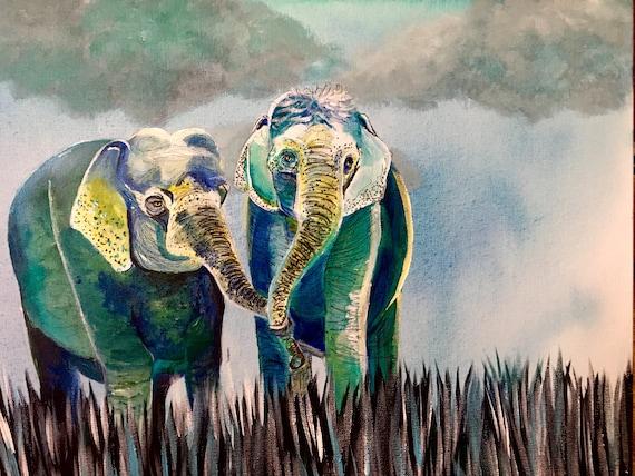 Elephant Print 2