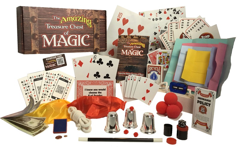 Magic Set  The Amazing Treasure Chest of Magic image 0
