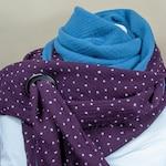 XL triangular cloth, turning scarf, eyelet, large cloth, XL turning cloth, cloth, stole, bolero, muslin cloth, accessory,