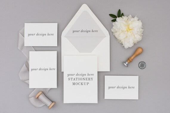 Stationery Mockup Wedding Invitation Mockup Wedding Mockup Envelope Liner Stationery Styled Stock Stock Love Studio Card Mockup