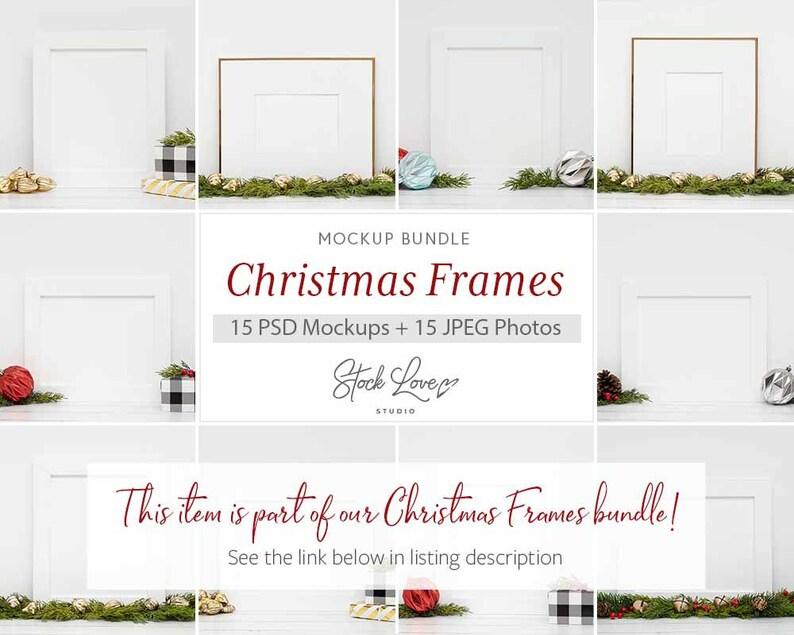 Christmas Print Mockup Christmas Frame Mockup Holiday Frame Frame Mockup Christmas Frame Holiday Mockup Christmas Mockup