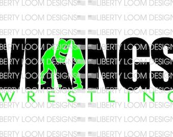 Vikings Wrestling Knockout