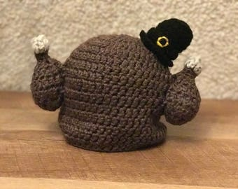 Thanksgiving Turkey Beanie - All Sizes Available