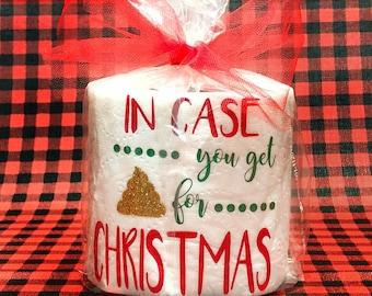 Christmas gag gift | Etsy