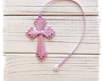 Cross Bookmark (Lavender), Bible Bookmark, Friendship Gift for Women, Inexpensive Christian Gift, Secret Sister Gift