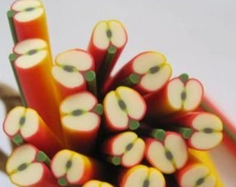 Orange Marshmallow Canes Decoden White  Yellow uv resin DIY Polymer Clay Green Shaker Fillers resin crafts epoxy resin