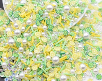 uv resin 5mm Shaker Fillers epoxy resin Yellow Chick Polymer Clay Sprinkles Fake Sprinkles Decoden resin crafts