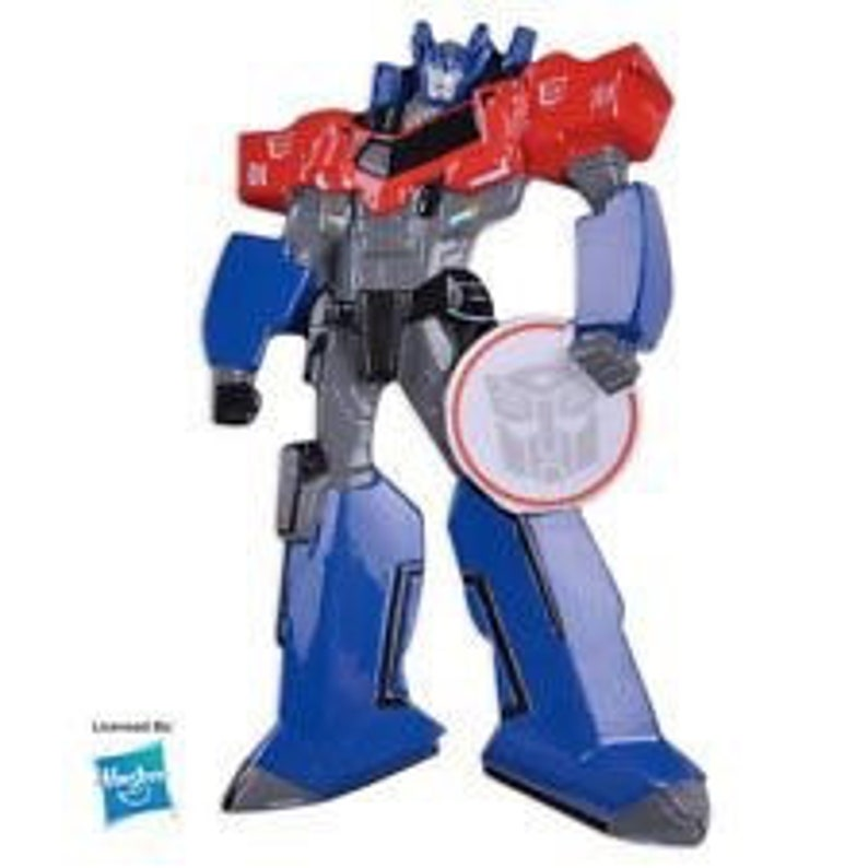 Personalized Optimus Prime Transformers Ornament Add Any Message You Want