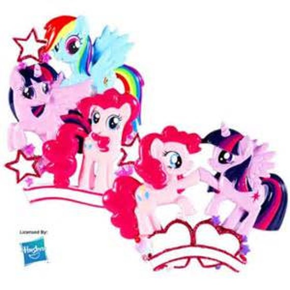 My Little Pony Christmas.My Little Pony Christmas Ornament Personalized Christmas Ornament Hasbro Each Sold Separately