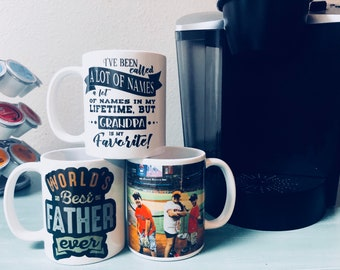 Father's Day Personalized Coffee Cup