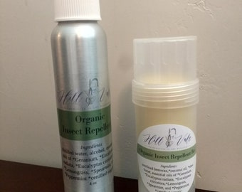 Organic All Natural Insect Repellent