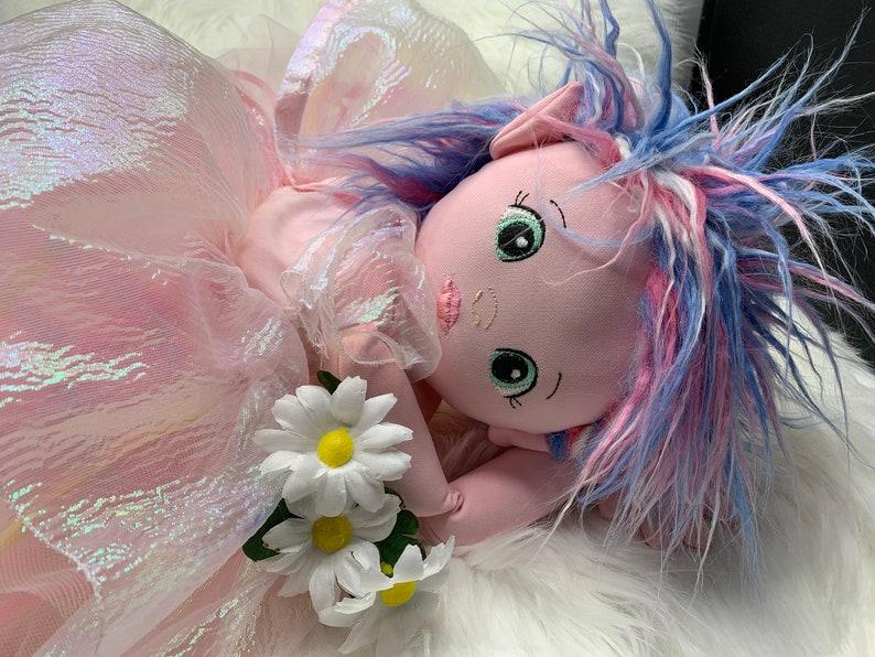 6x10 Fairy Dress Ensemble Pattern for Planet Applique Dolls