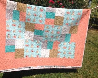 Handmade Twin (60x83) Quilt