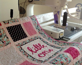 Personalized / Customized Baby or Toddler  Quilt