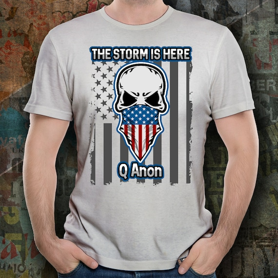 QAnon T Shirt Patriot 17 WWG1WGA Shirts Great Awakening Conspiracy Theory Woke Tops