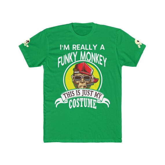 Funky Monkey Halloween Costume T-shirt