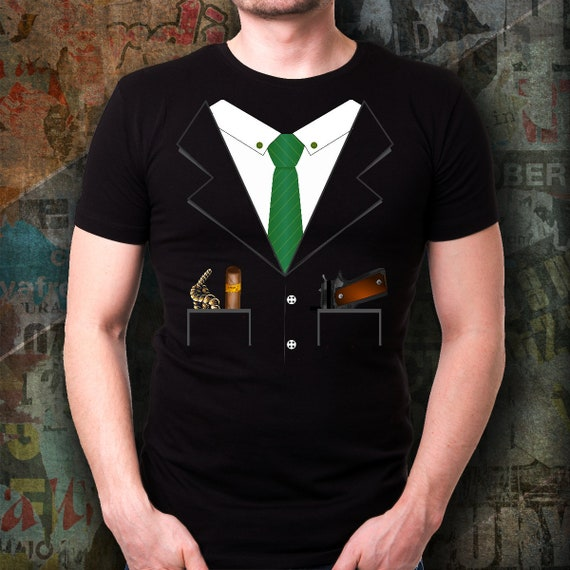 Mob Boss Gangster Halloween Costume T-shirt