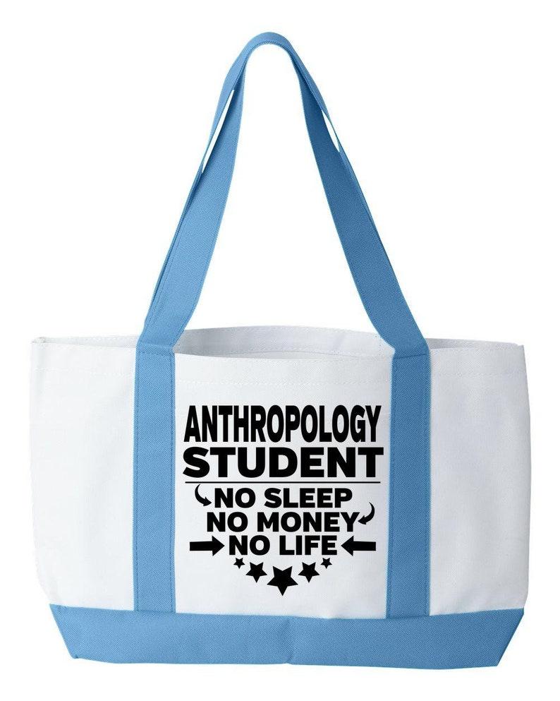 Anthropology Student Tote Bag College Majors Bookbag Gift For College Student College Degree Gifts Tote Book Bag