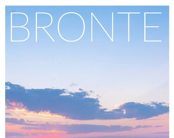 A2 Bronte Poster