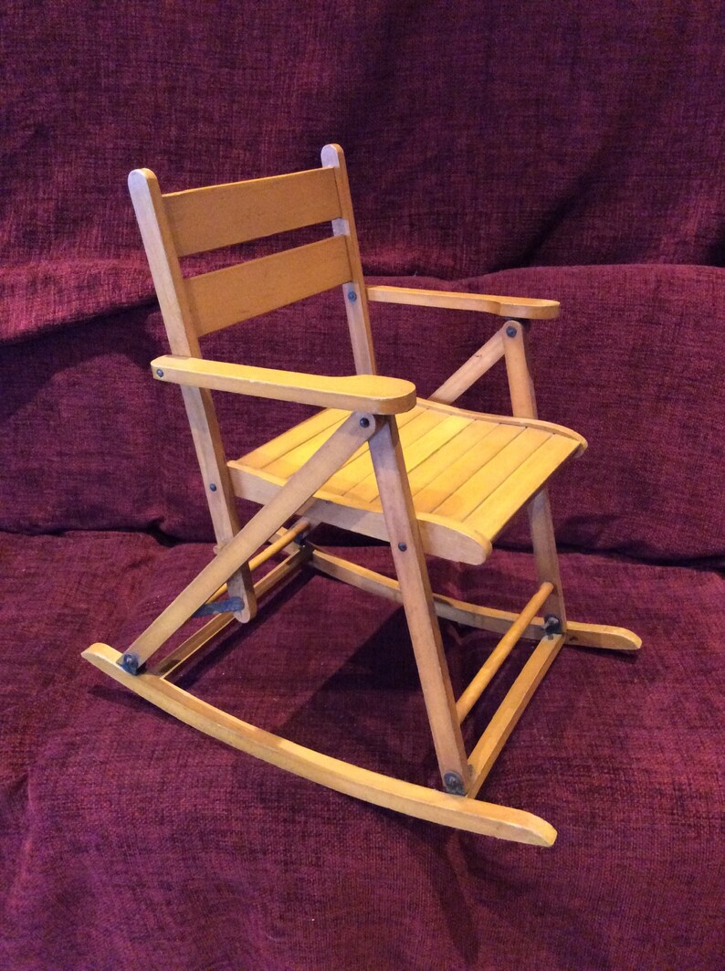 Tremendous Childs Rocking Chair Wooden Rocking Chair Vintage Rocking Childs Chair Beatyapartments Chair Design Images Beatyapartmentscom
