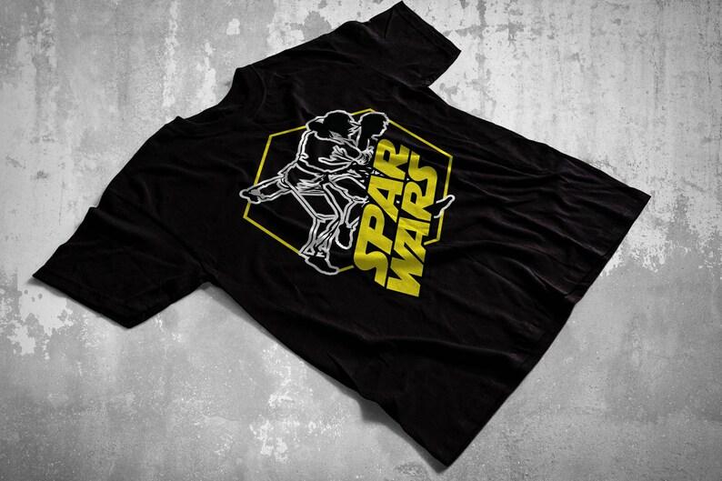 a272e5cec Martial Arts Shirt Spar Wars BJJ Jiu Jitsu MMA Taekwondo | Etsy