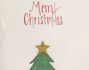 Glittered Christmas Cards(8 pack)