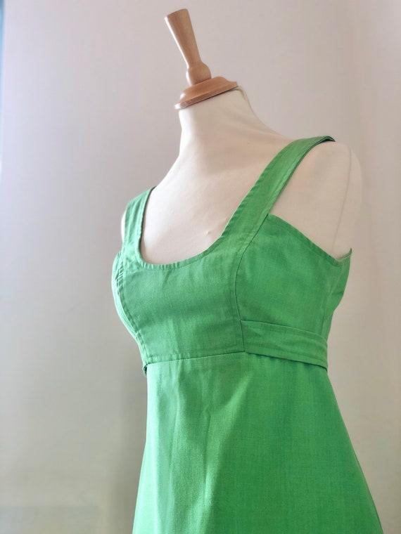 Vintage 1960's Quad Vivid Apple/ Lime Green Mod A