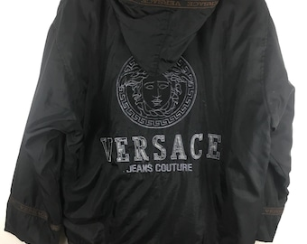 894771cf Versace jeans Couture Medusa Big logo Embroidered Armpit 26x32