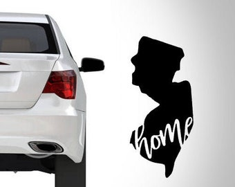 2 CAPE MAY DECALs Oval New Jersey Sticker for Mug Car Truck Bumper Window Laptop