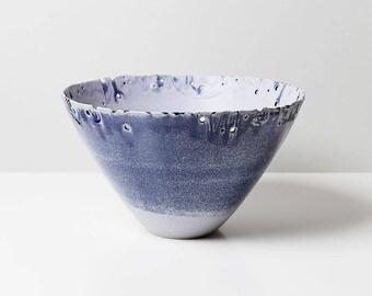 Stoneware Bowl centerpiece, stoneware bowl centerpiece.