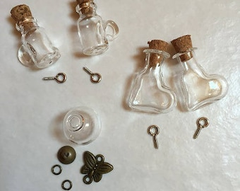 5 pendant globe glass 10-20 mm mm with Cap