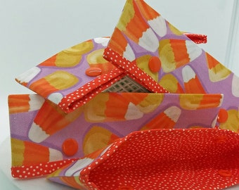 Candy Corn Cozy Needle Keeper/Holder