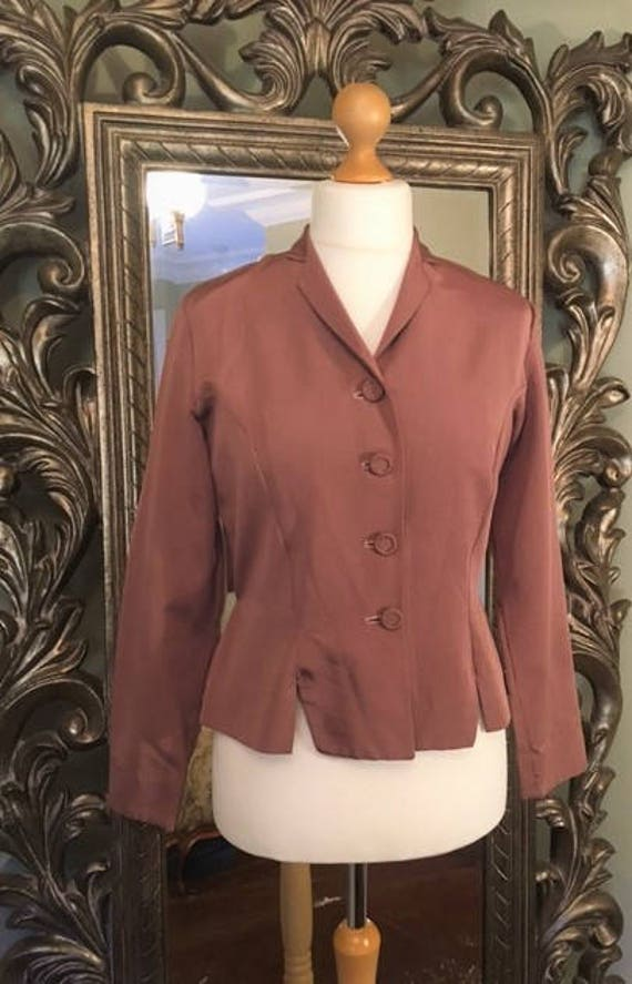 "1940's-50""s Jacket, UK Ladies Size 14, USA Size 10"