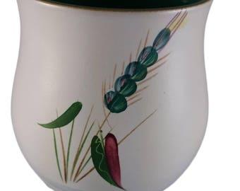 Greenwheat by Denby jam pot (no lid)