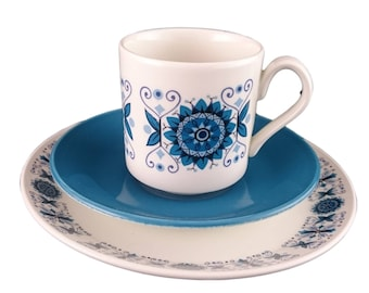 Engadine Cup, Saucer and Side Plate Trio from Johnson Bros