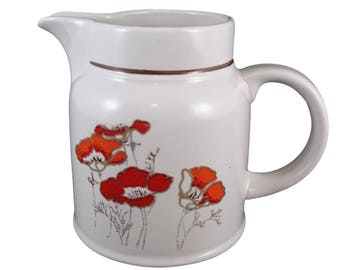 Milk Jug in the Fieldflower Pattern from Royal Doulton