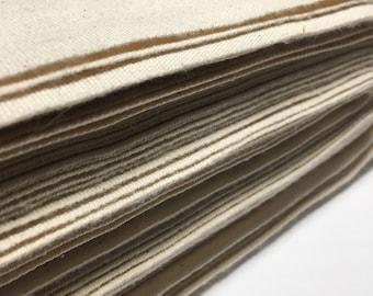 Natural Unbleached Cotton Canvas   Heavy 10oz Canvas Fabric