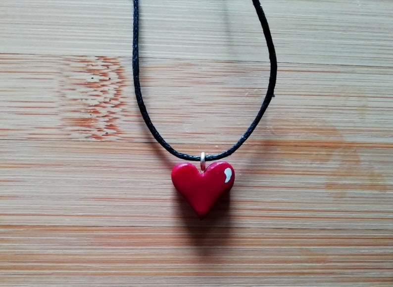 3851ae87108a6 Handmade Heart Pendant
